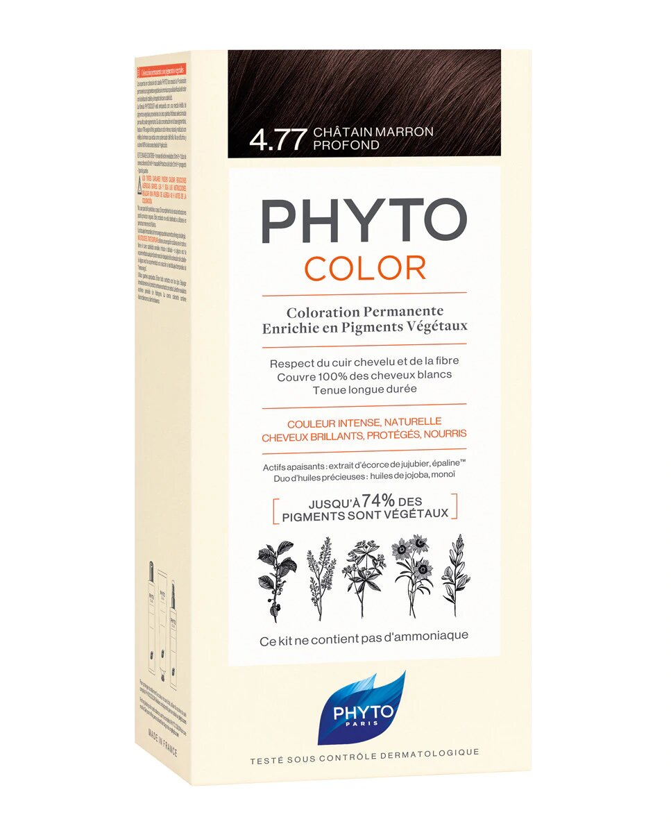 Coloración Permanente Phytocolor Phyto