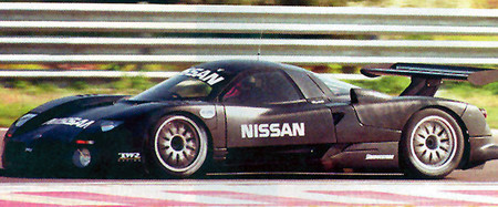 Nissan R390 GT1 Test