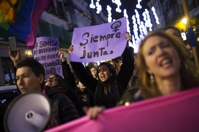 Huelga Mujeres 2018 8m