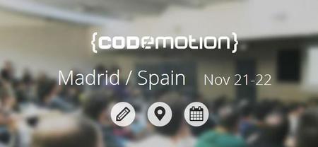 Publicada la agenda del Codemotion 2014