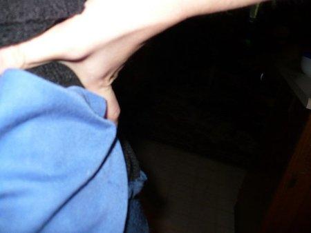 Un sencillo ejercicio  de estiramiento lumbar