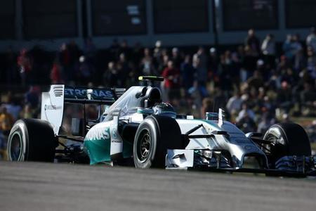 Nico Rosberg gana la primera batalla a Hamilton en Austin y logra su novena 'pole position' de la temporada