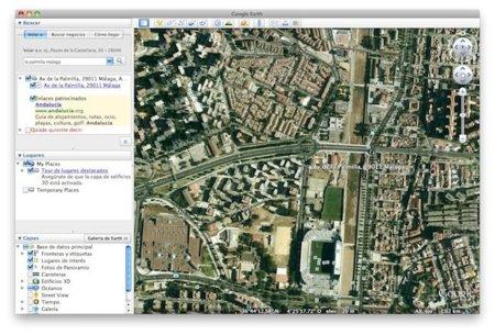 Nuevo Google Earth, ahora con navegador incorporado