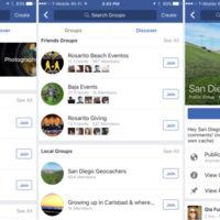 Facebook empezará a potenciar sus grupos con la función de sugerencias 'Discover'