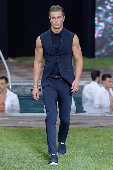 Las propuestas de Dirk Bikkembergs, Sergio Corneliani y Les Hommes durante la Milán Fashion Week