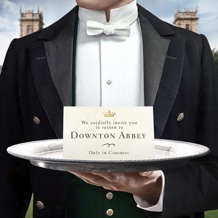 Teaser póster de la película de Downton Abbey