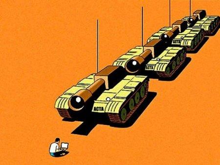 El lobby del copyright y las multinacionales farmacéuticas pierde la crucial votación sobre el ACTA