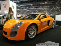 Mastretta MXT en el British Motor Show