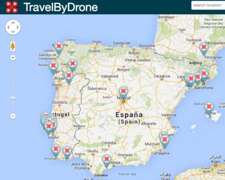 Recorriendo el planeta a vista de drone