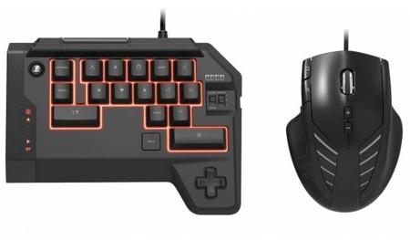 Hori lanzará en octubre un teclado y ratón exclusivo para jugar en PS4
