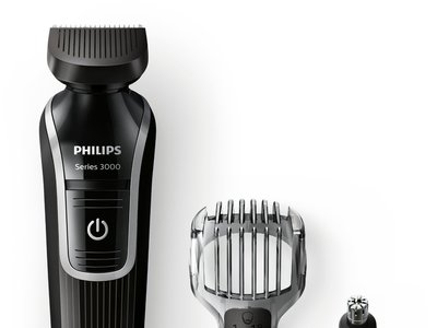 Oferta Flash en la  recortadora de barba Philips QG3320/15 3 en 1: hasta medianoche cuesta 14,90 euros