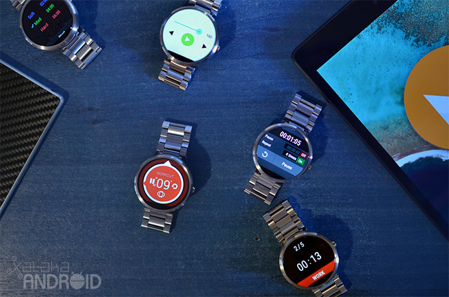 Android Wear Cronometros