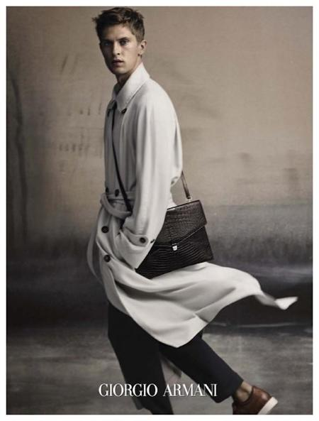 Giorgio Armani Spring Summer 2015 Men Campaign Mathias Lauridsen 001