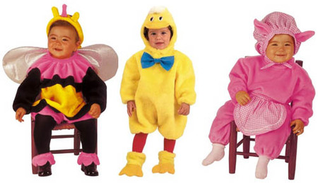 en la tienda de carnaval online mi disfraz se pueden adqurir unos disfracez muy simpticos como el de liblula pollito o cerdita para que vuestros bebs