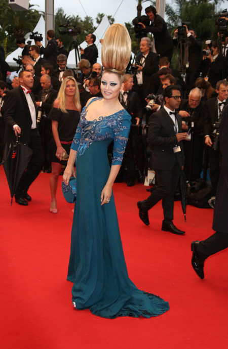Elena Lenina Festival de Cannes peor vestidas