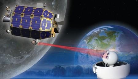 La NASA prueba comunicaciones láser a 622 Mbps entre la Tierra y la Luna