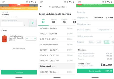 Xiaomi Rappi Venta Domicilio Entrega Ciudad De Mexico