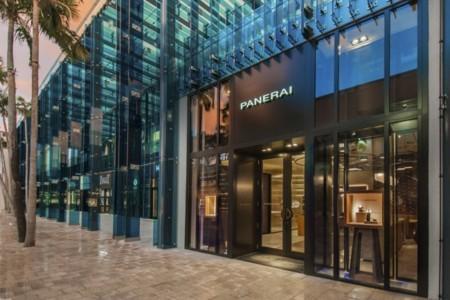 La nueva boutique Panerai de Miami lleva el sello de Patricia Urquiola