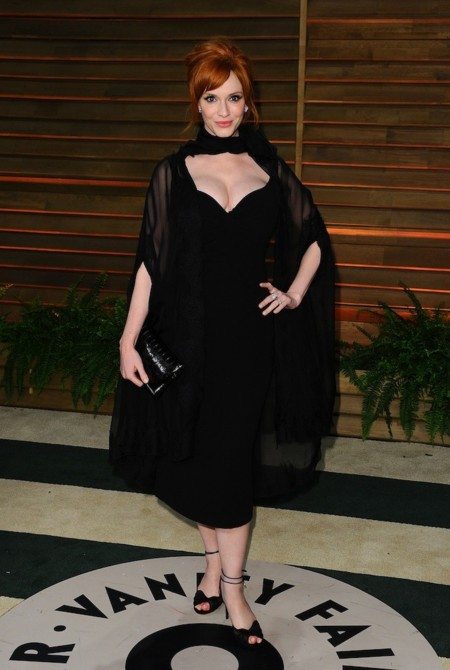Christina Hendricks oscar 2014 vanity fair