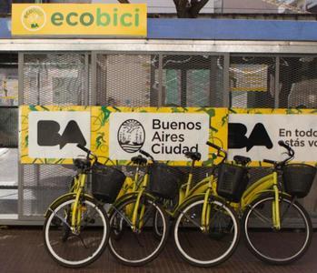 EcoBici : El sistema de alquiler de bicicletas de Buenos Aires
