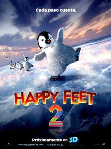 'Happy Feet 2', cartel español y tráiler definitivo