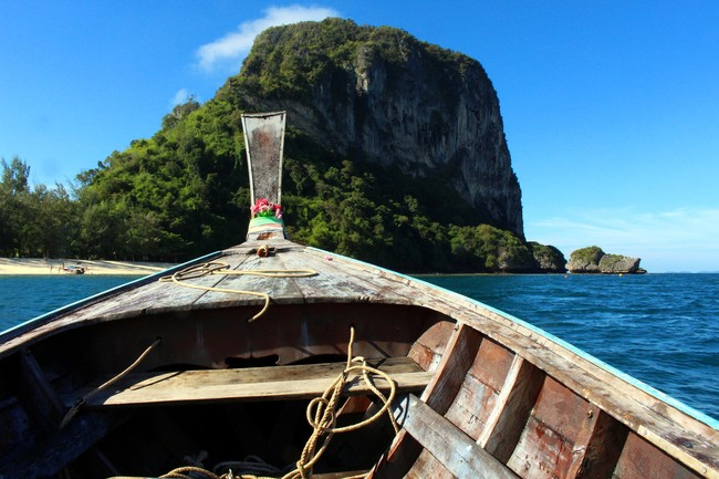 Tailandia Barco Destino Viaje 2017