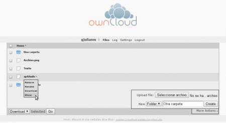 ownCloud, la nube libre de KDE lanza la versión 1.1