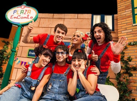 Canta Juego nos espera en Plaza EnCanto en Disney Channel