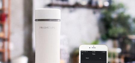 Prismcups: el vaso inteligente que te indica las calorías, el azúcar y la cafeína de tus bebidas