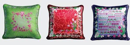 Cojines de Versace para alegrar tu sofá