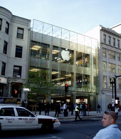 Todo preparado para la inauguración mañana de la nueva Apple Store de Boston