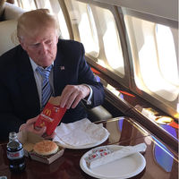 Adiós a las hamburguesas: Donald Trump ha tenido que cambiar a una dieta más saludable