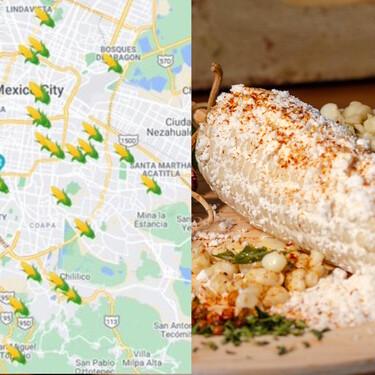 Haz el tour del elote: ya puedes puedes comer este antojito y ubicar otros en el mapa colaborativo de elotes y esquites de la CDMX