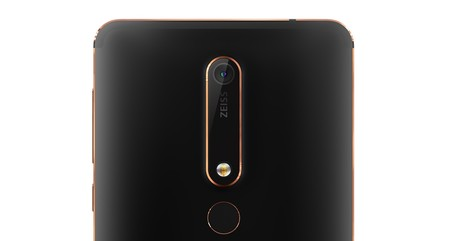 Nokia 6 Black Back