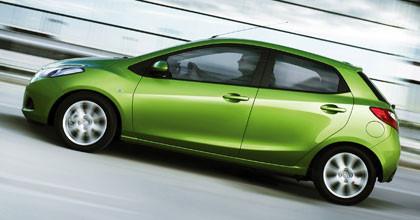 Debut del Mazda2 en el salón de Ginebra