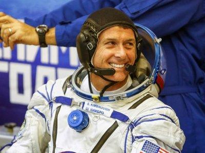 Este astronauta norteamericano registró su voto desde la Estación Espacial Internacional