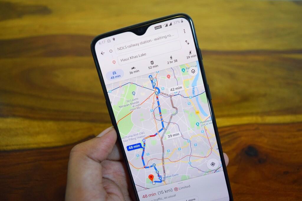 """Google Maps """"recomendará"""" rutas de transporte público para evitar aglomeraciones en México"""