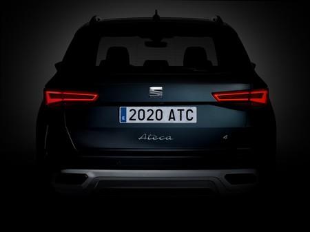 El nuevo SEAT Ateca se presentará el 15 de junio y ya nos deja ver su trasero en vídeo