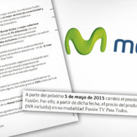 La CNMC no actuará ante la subida de precios de Movistar Fusión