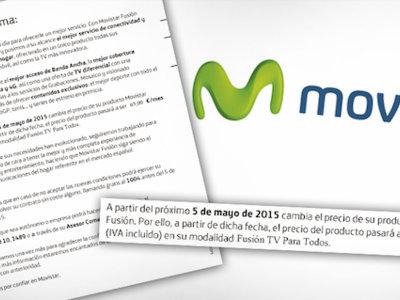 Movistar pagará más de seis millones de euros en multas por la subida de precio de Fusión de 2015