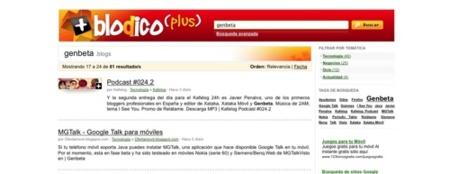 Blodico Plus, buscador hispano de contenidos de blogs