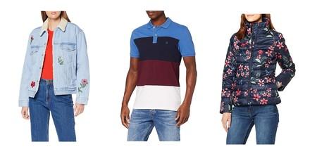Chollos en tallas sueltas de pantalones, polos y chaquetas de marcas como Levi's, Desigual o El Ganso en Amazon