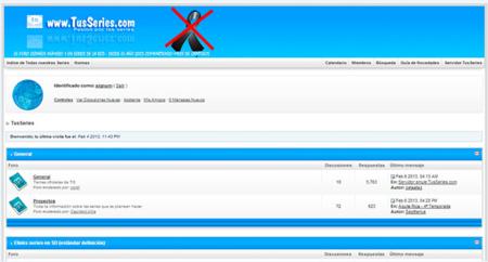 TusSeries.com vuelve a la carga tres semanas después de su cierre