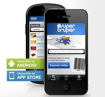 SuperTruper, comparador de precios para smartphones ¡ahora más!