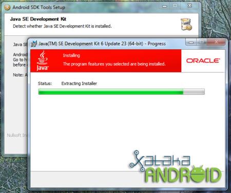 instalacion sdk android windows