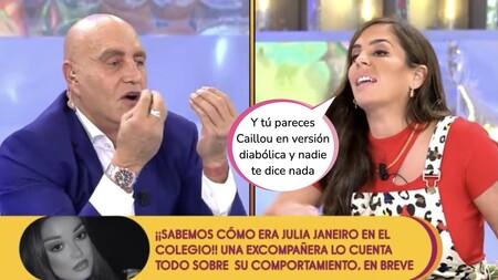 """Anabel Pantoja brota contra Kiko Matamoros y abandona el plató de 'Sálvame' entre gritos: """"Me agota"""""""