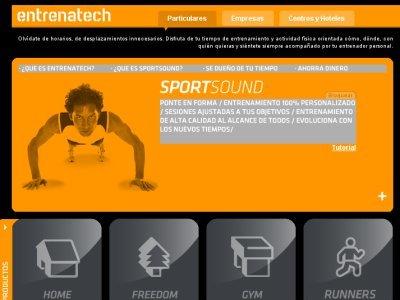 Entrenatech, un entrenador personal online