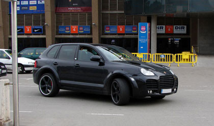 Motta - Porsche Cayenne Magnun by TechArt