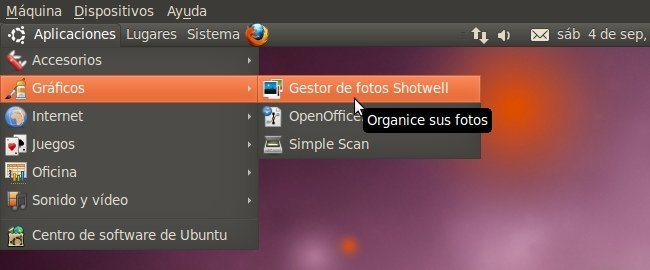 primera Beta de Ubuntu 10.10 Maverick Meerkat Shotwell