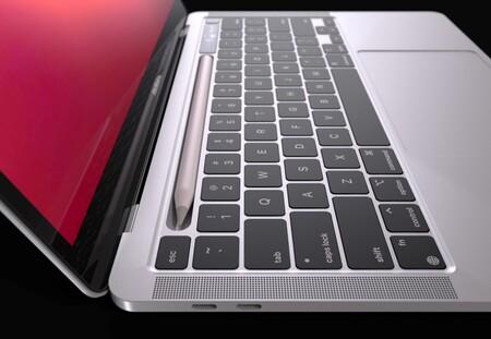 Macbook Apple Pencil 1
